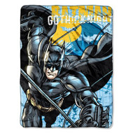 "DC Originals Batman ""Call of the Bat"" Micro-Raschel Blanket, 46"" by 60"""