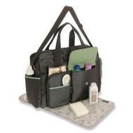 Graco Ottawa Collection Smart Organizer Duffle Diaper Bag - Brown/Green