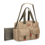 Carters Utiliyy Starter Duffle Diaper Bag in Khaki