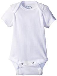 Jockey Unisex-Baby 5Pk White Bodysuit, 0-3 Months