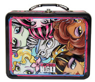 Monster High Carry All Tin Lunchbox