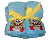 Nickelodeon SpongeBob SquarePants Bubbly Fun 4-Pk Washcloths