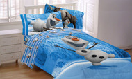 Disney Frozen Olaf Made of Snow Reversible Comforter, Twin