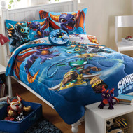 Skylanders 'Fantasy Battle' Twin Comforter and Sheets Set