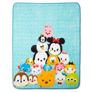 "Disney Tsum Tsum Plush Throw 50"" x 60"""