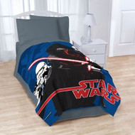 "Star Wars Episode VII Twin/Full Blanket - 62"" by 90"""
