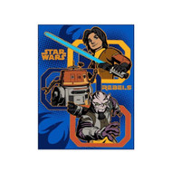 "Star Wars Rebels ""Fight"" Throw, 50"" x 60"""