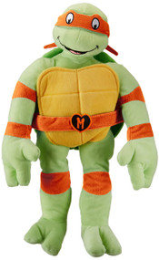 "Nickelodeon Teenage Mutant Ninja Turtles ""I Love TMNT"" Throw Pillow, Michelangelo"