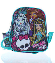 "Monster High 10"" Mini Backpack"