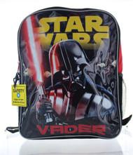 """Star Wars 16"""" Backpack - Darth Vader Lightsaber"""