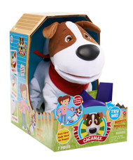 Club Petz CaCa Max Animated Dog Plush