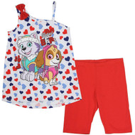 Nickelodeon Paw Patrol Girls Biker Short Set