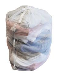 Samsonite Mesh Drawstring Laundry Bag, White