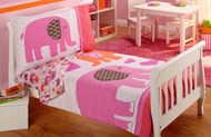 Carter's Elephant Walk Toddler Bed Set