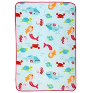 Carter's Toddler Printed Coral Fleece Blanket - Mermaid