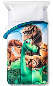 Disney Good Dinosaur Trio Reversible Twin Comforter