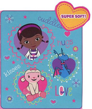 Disney Doc Mcstuffins Cuddles Throw