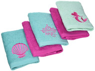 "Disney 5-Piece Princess ""Summer Palace"" Washcloth Set"