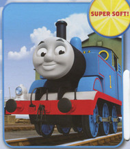 Thomas the Tank Engine 'Go, Go Thomas' Plush Fleece Throw Blanket