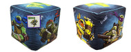 "Nickelodeon Ninja Turtles ""Dark Ninja"" Cubed Ottoman, 12 by 12-Inch"