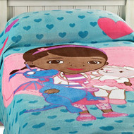Disney DOC McStuffins Cuddle Care Fleece Blanket