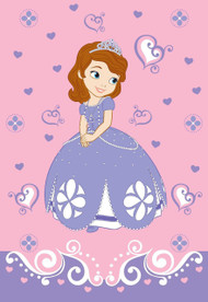 Disney Sofia 1st Introducing Sofia Blanket, 62 by 90""