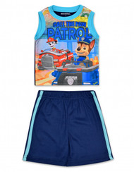 "Paw Patrol Toddler Boys' ""Call the Paw Patrol"" 2-Piece T-Shirt & Shorts Set (2T)"