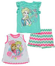 "Disney Frozen Little Girls' Toddler ""Listen to Your Heart"" 3-Piece Set - 3T"