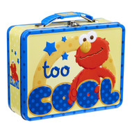 Sesame Street Too Cool Elmo Tin Lunch Box