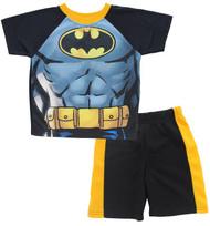 "Batman Boys' ""Super Muscles"" 2-Piece T-Shirt & Shorts Set (6)"