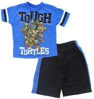 """TMNT Ninja Turtles Toddler Boys' """"Tough Turtles"""" 2-Piece T-Shirt & Shorts Set (2T)"""
