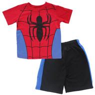 "Marvel Spiderman Boys' ""Spidey"" 2-Piece T-Shirt & Shorts Set"