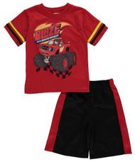 Blaze and the Monster Machines Boys' 2-Piece T-Shirt & Shorts Set