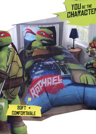 Teenage Mutant Ninja Turtles 'Be The Character' Twin Size Comforter