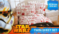 "Star Wars You be The Character 39"" x 75"" Twin Sheet Set"