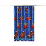 Disney/Pixar Cars Micro-Fiber Shower Curtain