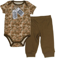 US Army Baby Boys 2-Piece Pant Set - Newest Recruit (0-3 Months)