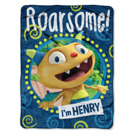 Disney's Henry Hugglemonster 46x 60 Micro Raschel Throw - by The Northwest Co. by Northwest Enterprises