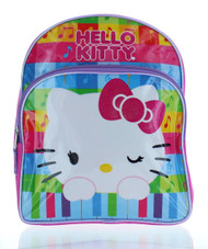 "Hello Kitty 12"" Backpack 'Musical Rainbow'"