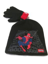Spider Man Hat and Gloves Set