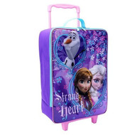 Disney Frozen Strong Heart Rolling Luggage - 16""