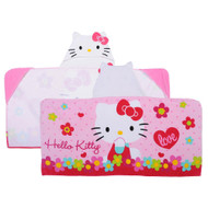 Hello Kitty New Outlook Baby Hooded Wrap 100% Cotton