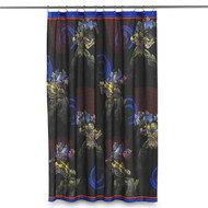 Transformers 4 Fabric Shower Curtain