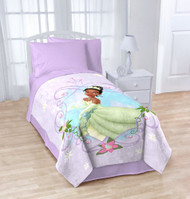 "Disney Disney Princess and the Frog Twin/Full Micro Raschel Throw - 62"" X 90"""