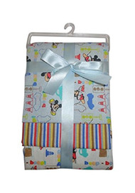 Disney Mickey Mouse 3 Piece Receiving Blankets