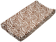 Carter's Velour Changing Pad Cover, Zebra