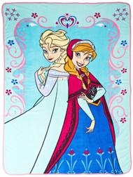 Disney Frozen Springtime Faux Mink Fleece Blanket