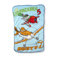 Disney Planes Toddler Plush Fleece Blanket