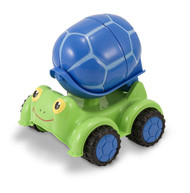Melissa & Doug Sunny Patch Scootin' Turtle Cement Mixer