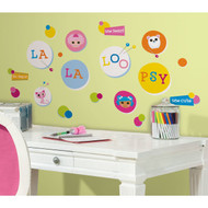 RoomMates RMK2004SCS Lalaloopsy Polka Dots Peel and Stick Wall Decal
